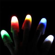 Set 2 ngón tay có đèn LED phát sáng biểu diễn ảo thuật
