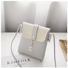 Túi đựng điện thoại mẫu mới khóa hình hươu-ACG64, túi đeo chéo nữ,túi đeo chéo mini thời trang nữ
