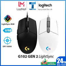 Chuột Chơi Game Logitech G102 Gen2 LightSync – Chính Hãng Phân Phối