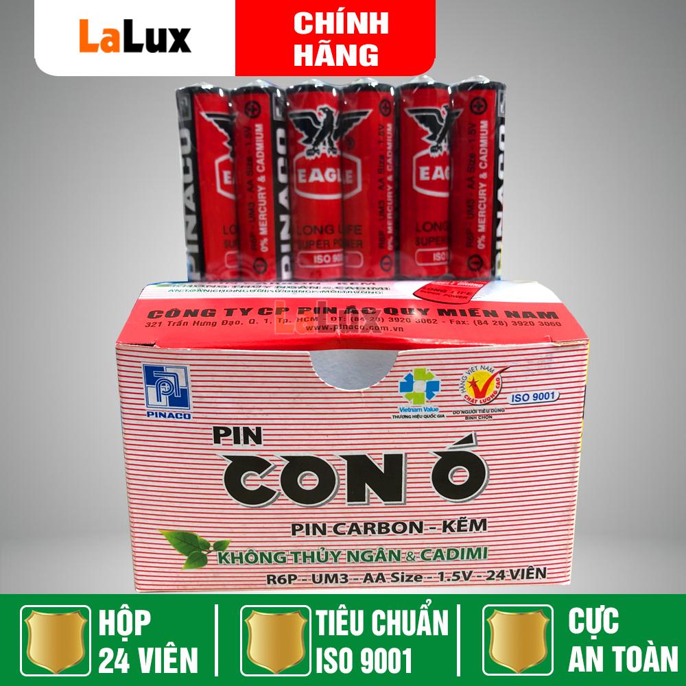 [HỘP 24 VIÊN] Hộp Pin Con Ó 2A (AA) - Pin Tiểu AA Con Ó Đỏ 1.5v - Pin Đồng...