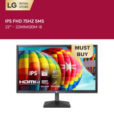 [VOUCHER 200K] Màn hình máy tính LG IPS FHD (1920 x 1080) 75Hz 5ms 22 inches l 22MN430M-B l HÀNG CHÍNH HÃNG
