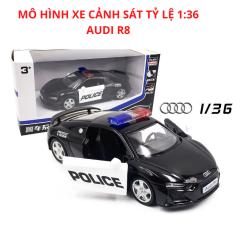 Mô Hình Siêu Xe Cảnh Sát Dubai Audi R8 Bằng Sắt Tỷ Lệ 1:32 – Đồ Chơi Trẻ em KidPrO
