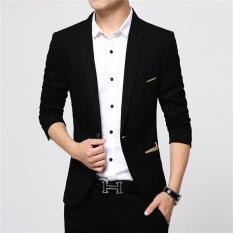 Áo Khoác Vest Nam Hàn Quốc Màu Đen Thời Trang TC-Fashion – TC61414