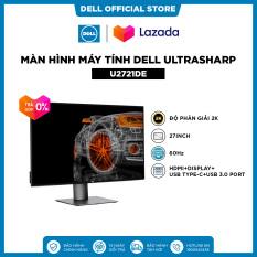[TRẢ GÓP 0%_FREESHIP]Màn Hình Máy Tính Dell UltraSharp U2721DE 27inch 2K IPS 60hz 5ms Cổng RJ45 HDMI+Display+USB Type-C+USB 3.0 Port
