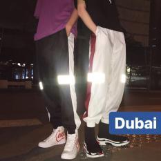 QUẦN JOGGER HIPHOP NAM NỮ VIỀN VẠCH PHẢN QUANG CAO CẤP – DUBAI FASHION