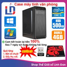 Case máy tính CPU Pentium G2010 / Core i5-3330 / Ram 4GB / HDD 250GB-500GB / SSD 120GB-240GB + [QUÀ TẶNG: USB thu wifi + bàn di chuột] – LLD