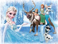 Tranh ghép gỗ 60 mảnh – Công chúa Elsa