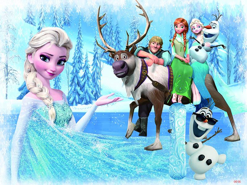 Tranh ghép gỗ 60 mảnh - Công chúa Elsa