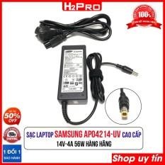 Cục sạc laptop SAMSUNG 14V 4A AP04214-UV H2Pro, Dây nguồn máy tính hàng chính hãng