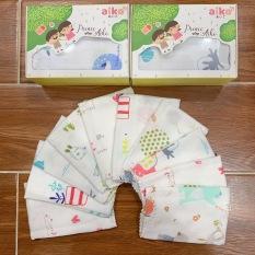 [HCM]Khăn sữa khăn xô khăn lau mặt in hình cao cấp cho bé – Aiko (1 cái)