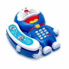 Đồ chơi Điện thoại Kitty, Đoremon có nhạc, có đèn cho bé