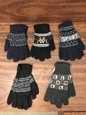 Combo 6 ĐÔI găng tay len,họa tiết thổ cẩm, dành cho nam & nữ , ảnh thật