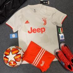 Bộ quần áo đá bóng Juventus bản mới trắng cam