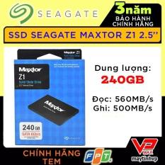 (Hỗ trợ cài Win) Ổ cứng SSD Kingfast 120Gb / Seagate Maxtor Z1 240Gb bh 3 năm FPT