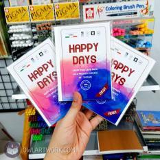 Postcard Giấy Vẽ Màu Nước Happy Hạng Họa Sĩ 300Gsm Bề Mặt Sần Nhẹ, Thích Hợp Cho Nhiều Kĩ Thuật Tô Khác Nhau