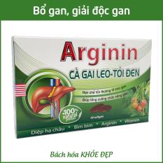 Viên uống bổ gan Arginin 600 giải độc gan, hạ men gan – Hộp 60 viên thành phần cà gai leo, diệp hạ châu