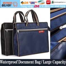 【Trong 24h gửi hàng】Cặp Túi xách đựng hồ sơ tài liệu B4 Chống Thấm Nước