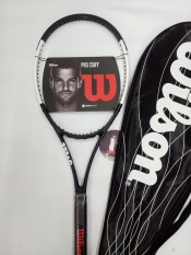 Vợt tennis Wilson 265g- Màu đen trắng – tặng căng cước quấn cán và bao vợt – ảnh thật sản phẩm