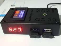 Sạc điện thoại trên xe máy sạc nhanh QC 3.0 24W, 2 cổng sạc cao cấp