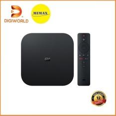 [Hỗ Trợ Tiếng Việt] Android Tivi Box Xiaomi Mibox S 4K Global | MDZ-22- AB | Bản Quốc tế | Hàng Chính Hãng | DIGIWORLD