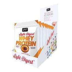 Combo 12 gói Bột Whey Protein có BCAA hương Kem cháy Pháp QNT