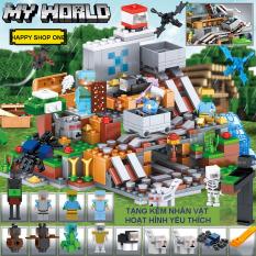 [QUÀ TẶNG CHẤT] Lego Minecraf My World 💝 Lego giá rẻ cực đẹp cho bé