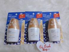 COMBO 3 Kem Chống Nắng Sunplay Skin Aqua Clear White Mẫu Thử 5g (Trắng)
