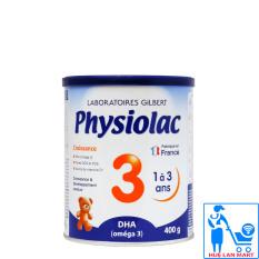 Sữa Bột Physiolac DHA 3 – Hộp 400g (Cho trẻ 1~3 tuổi)