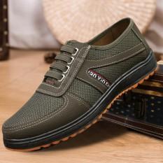 Giày lười nam màu xanh rêu đế chống trơn trượt siêu bền, siêu đẹp AVISHOP SP – 285 | giày lười nam | giày lười | giày lười đẹp