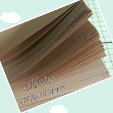100 tờ giấy Kraft kt 25×35 70gsm