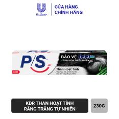 Kem Đánh Răng P/S Bảo vệ 123 Than Hoạt Tính 230g