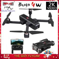Flycam MJX Bugs 4W Camera 2K – Cảm Biến Bụng – Bay 22 Phút – Động Cơ Không Chổi Than (Sánh tầm sjrc f11, hubsan zino, c-fly dream, bugs 5w)