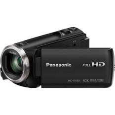 [Trả góp 0%]Máy quay Panasonic HC-V180K Full HD zoom 90x-500x Time Lapse Recording màn hình cảm ứng tặng thẻ nhớ 16GB đầu đọc thẻ chân