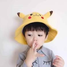 Mũ vành pikachu – Nón tai bèo đẹp cho bé
