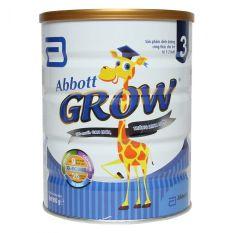 Sữa Abbott Grow 3 – Hộp 900g (trẻ từ 1-2 tuổi)