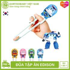 Đũa tập ăn xỏ ngón cho bé từ 2 tuổi Edison Poli kiểm định an toàn, giúp bé ăn ngon – Goryeobaby Việt Nam – đũa tập ăn, đũa xỏ ngón, đũa cho bé