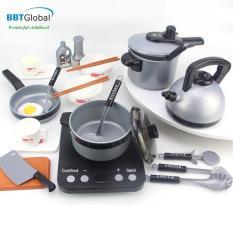 Đồ chơi nấu ăn cho bé BBT Global 5696 làm từ nhựa nguyên sinh đã qua kiểm định an toàn tuyệt đối sản xuất theo tiêu chuẩn châu Âu