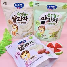 Bánh Gạo Ildong Hàn Quốc, Bánh Gạo Hữu Cơ Ăn Dặm Cho Bé 30G 6M+ [Date T4/2022]