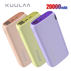 KUULAA Power Bank sạc dư phòng 20000mAh Sạc di động Poverbank Điện thoại di động Bộ sạc pin ngoài Powerbank pin sạc dự phòng 20000 mAh cho Xiaomi Mi