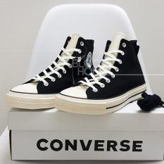 Giày Sneaker Converse 1970s Fear of God ESSENTIALS HIGH BLACK(Giày thể thao CV 1970s cao cổ màu đen+ Tùi converse+bill+tất))