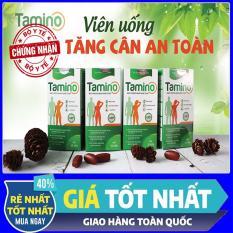 [ Combo 4 hộp ] Viên Uống Tăng Cân TAMINO – Bổ Sung Hợp Chất Whey Protein từ Mỹ