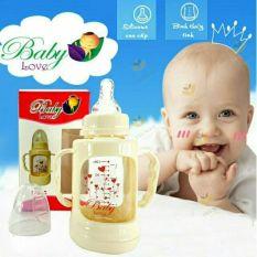 Bình Sữa Thủy Tinh Babylove 120Ml