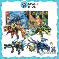 Ghép hình Lego Ninjago rồng MG186 hơn 150 chi tiết cho bé, chất liệu nhựa ABS nhiều màu sắc