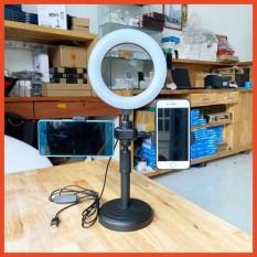 Đèn Livestream Để Bàn 2 Kẹp Điện Thoại siêu bền