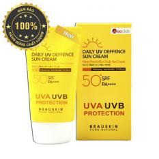 Kem chống nắng kiểm soát dầu DAILY UV DEFENSE SUN CREAM BEAUSKIN 50ml