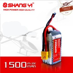 Pin Máy Bay LiPo ShangYi 3S 4S 1500mAh 100C
