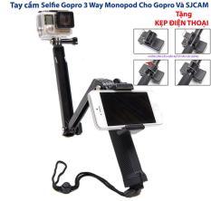 Tay cầm chụp ảnh Selfie Gopro 3 Way Monopod Cho Gopro Và SJCA