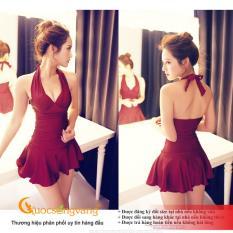 Váy đầm bơi một mảnh đẹp đồ bơi một mảnh GLSWIM014