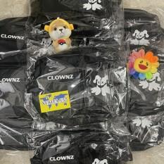 Túi đeo chéo Clownz (chuẩn cao cấp 1-1) (Tặng full tag và giấy thơm) (loại 2 hộp in mặt quỷ) (Vukita157)