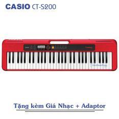 Đàn Organ Casio Casiotone CT-S200 (Đủ 3 màu) Kèm Adapter + Giá nhạc – Việt Hoàng Phong